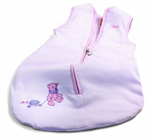 Preisvergleich Produktbild STEIFF 237997 - Teddybär Schlafsack, rosa