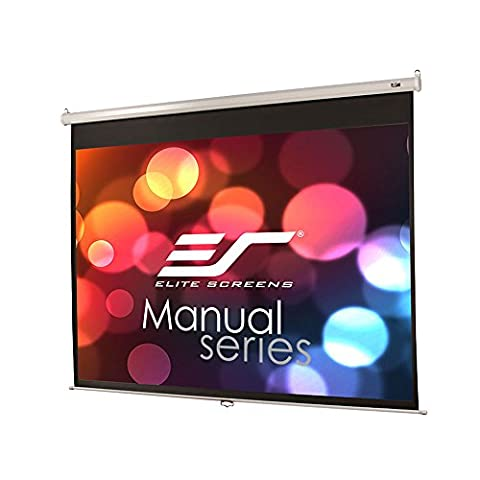 Elite Manual Series M80NWV Ãcran de projection 80 po ( 203 cm ) 4:3 Matte White