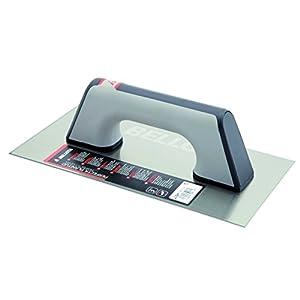 Bellota 5861-1 BIM – Llana de acero inoxidable para albañil y especial para yeso, 300x150mm