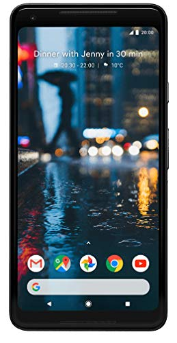 Pixel 2XL - Smartphone de 6' QHD (WiFi, 64 GB de RAM, memoria interna de 64 GB, cámara de 16.8 MP, Android) color negro