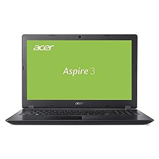 Acer Aspire 3 (A315-53-56GP) 39,6 cm (15,6 Zoll Full-HD matt) Multimedia Notebook (Intel Core i5-7200U, 8 GB RAM, 256 GB SSD, Intel HD, Win 10) schwarz