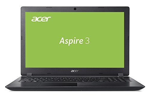 Acer Aspire 3 (A315-53-56GP) 39,6 cm (15,6 Zoll Full-HD matt) Multimedia Notebook (Intel Core i5-7200U, 8 GB RAM, 256 GB SSD, Intel HD, Win 10) schwarz