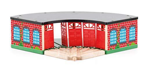 Woodyland 102191811 cobertizo para Motor, Grande, Madera/plástico, Multicolor