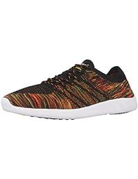 Boras , Baskets pour femme multicolore orange/green/black - multicolore - orange/green/black,