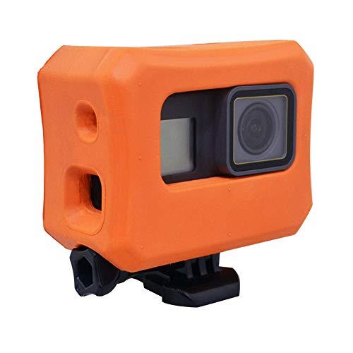 Floaty für GoPro Hero 6Hero 5Kameras, orange Floating Fall für GoPro Floater Zubehör für Schwimmen Tauchen