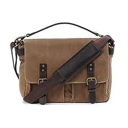 Ona Prince Street Messenger Bag Field Tan