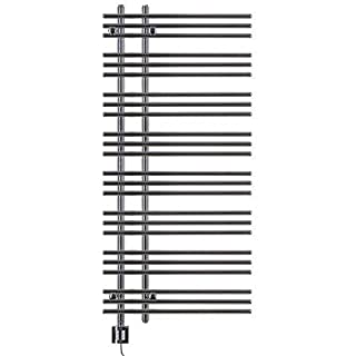 Heated Towel Rail, Chrome Straight, Incl. Heating Element, Fix and Delivered - Chrome, 1300h x 500b