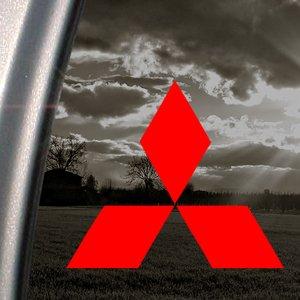 mitsubishi-diamond-red-decalcomania-adesiva-per-finestre-auto-camion-colore-rosso