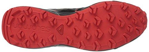 Salomon Herren Speedcross Vario Traillaufschuhe Schwarz (Black/magnet/fiery Red)