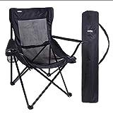 URPRO Camping Sedia Portatile Sedia Pieghevole per Campeggio, Escursioni, Spiaggia, Pesca, Sedia da Campeggio Leggera