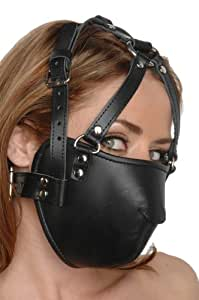 Strict Leather Leather Face Harness