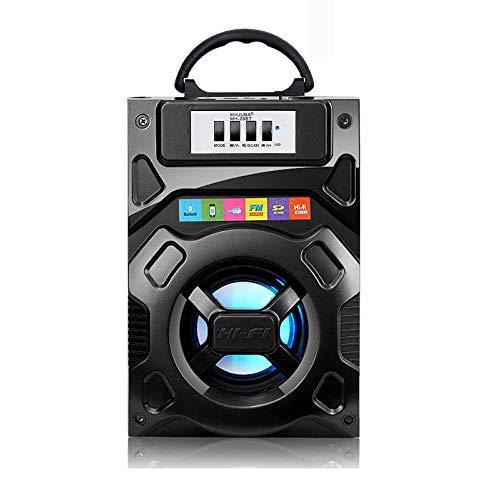 ERKEJI Bluetooth-Lautsprecher Tragbarer Außenlautsprecher-Radio AUX/USB/TF-Karte Bluetooth4.1 Intelligente Rauschunterdrückung Geschenk