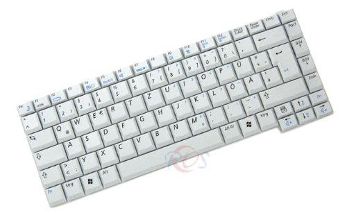 R40-tastatur (Original TC Tastatur für Samsung R40 Plus Series DE Neu Silber)