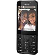 Microsoft Nokia 230 Smartphone débloqué 2G (Ecran: 2,8 pouces - 32 Go - Double SIM) Argent foncé