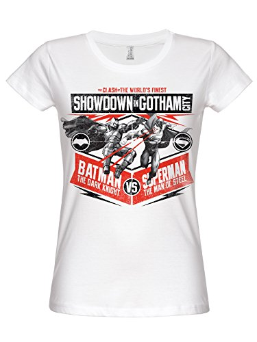 Show down In Gotham City saffico T-Shirt (White) bianco XX-Large