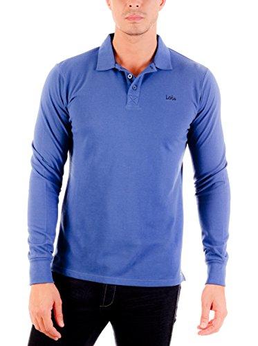 Lois Herren Poloshirt Blau