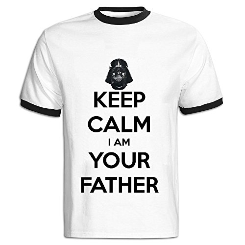 ALONK Herren T-Shirt Schwarz
