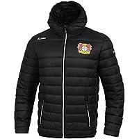 JAKO Fußball Bayer 04 Leverkusen Steppjacke Kinder Winterjacke Jacke schwarz