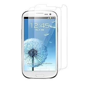2 x Original iGard Samsung Galaxy S3 LTE Crystal Clear Schutzfolie Unsichtbar Invisible Displayschutzfolie Screen Protector TOP Marken Qualität