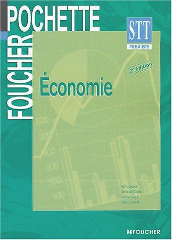 Foucher Pochette : Economie, BAC STT par M. Biales