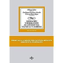Mediación Y Resolución De Conflictos. Técnicas Y Ámbitos (Derecho - Biblioteca Universitaria De Editorial Tecnos)