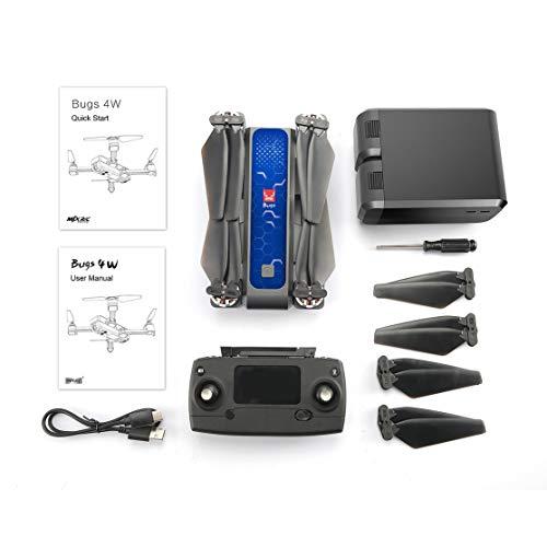 Preisvergleich Produktbild LouiseEvel215 B4W 5G WiFi FPV Ultraschall GPS Brushless Faltbare RC Drohne mit 2 * Batterie Anti-Shake 2K HD Kamera RC Drohne in Tragetasche