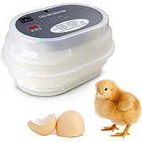 Incubadora del Huevo volteo digital automatico con Control de Temperatura,12 Huevos