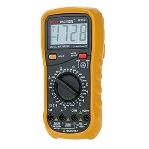 HYELEC MY60 multimetro digitale AC / DC Tensione Corrente Resistance Tester