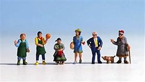 NOCH 15470 Figures Parte y Accesorio de juguet ferroviario - Partes y Accesorios de Juguetes ferroviarios (Figures,, 7 Pieza(s),, HO (1:87))