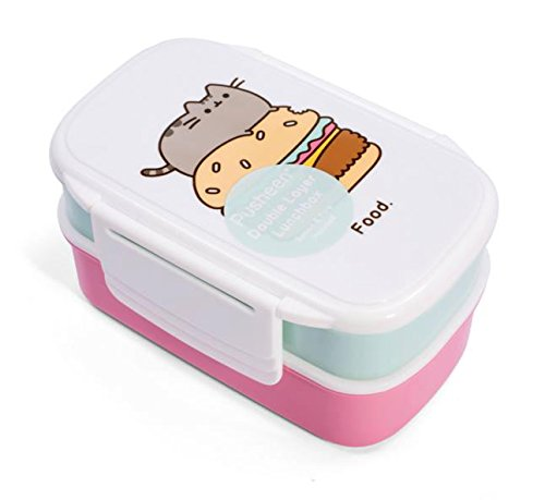 Thumbs Up Lunch Box (2er Set), Plastik, Rose, 13 x 20 x 9.5 cm Rose Snack