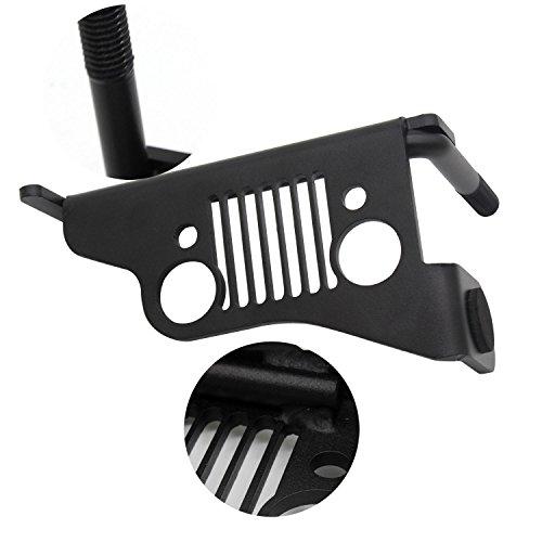 acero-inoxidable-negro-metal-front-foot-pegs-resto-panel-inferior-para-2007-2017-jeep-wrangler-jk-un