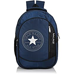 Bag-Age Allstar College School Backpack (Dark Blue)
