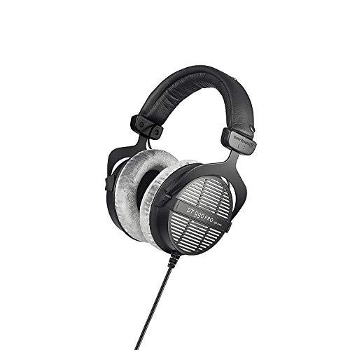 beyerdynamic DT 990 PRO einseitig kabelgebundener Over-Ear-Studiokopfhörer für Mixing, Mastering und Editing mit 250 Ohm