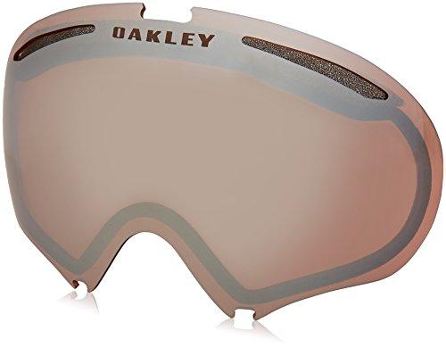 Oakley Visier Für Snowboardbrille A Frame 2.0 Dual Vented (Bright Sun-Bluebird) (Default , Schwarz)