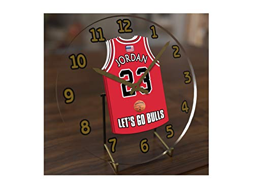 Michael Jordan 23 ? Chicago Bulls NBA Basketball Jersey Uhr ? Sporting Legends Limited Edition -