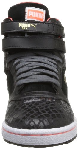 Puma Sky II Hi Animal Wns Blk, Baskets mode femme Noir (Black)