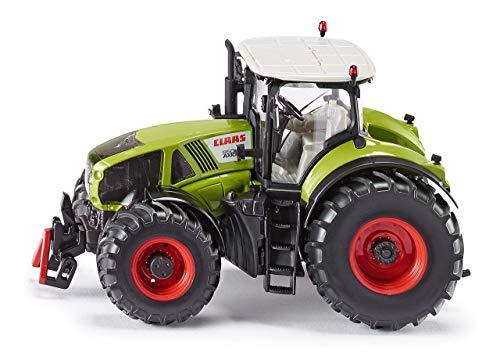 Siku 3280, Claas Axion 950 Traktor, 1:32, Metall/Kunststoff, Grün, Abnehmbare Fahrerkabine