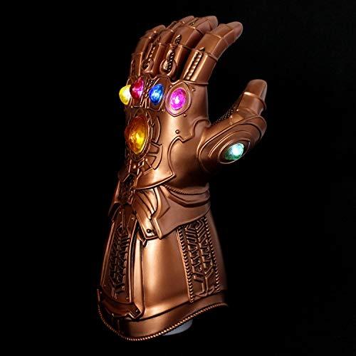 SEJNGF Cosplay Maske Unendlich Handschuhe Glühen Avengers Anime - Für Erwachsene Avengers Thor Muskel Kostüm
