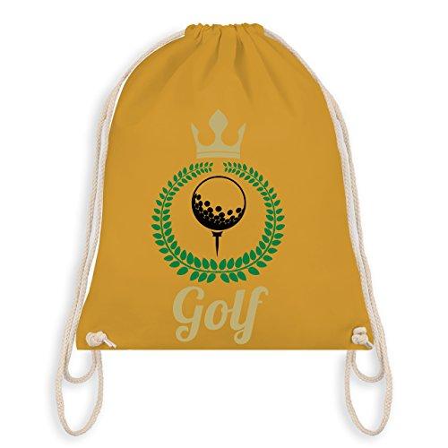 Golf - Lorbeerkanz Krone Golf - Unisize - Senfgelb - WM110 - Turnbeutel & Gym Bag