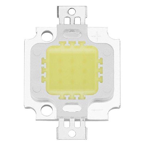 SeniorMar High Power Pure weiß Cob SMD LED Beads Chip Flutlicht Lampe 10W (Zebra-streifen-lampe)