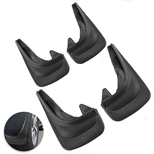 Preisvergleich Produktbild 4 Stück Universal-Auto-Schmutzfänger,  vorne,  hinten,  Schutz,  Gummi-Spritzschutz
