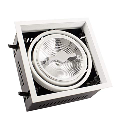 Foco LED CREE-COB Direccionable AR111 15W Regulable Blanco Neutro 4000K efectoLED