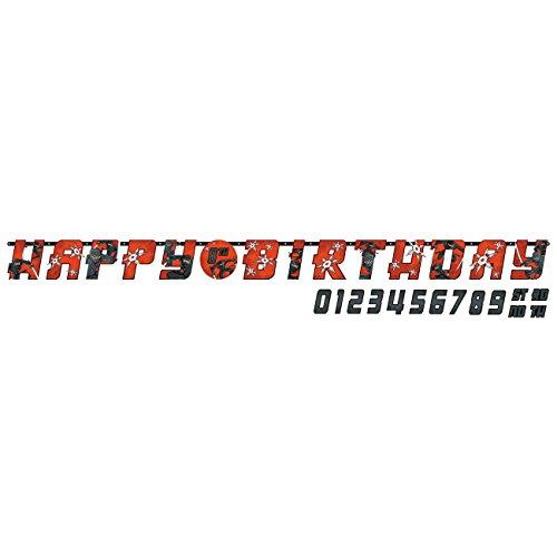 irlande Happy Birthday Ninja, ca. 3,20 m ()