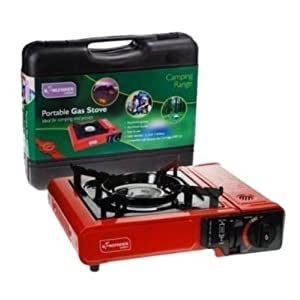41W6YPIqPlL. SS300  - PORTABLE CAMPING PICNIC FISHING FESTIVAL GAS POWERED STOVE & CARRY CASE OLSTOVE