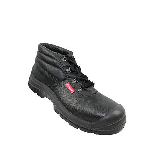 Bellota S1P SRC Sicherheitsschuhe Arbeitsschuhe Berufsschuhe Businessschuhe Trekkingschuhe hoch Schwarz Schwarz