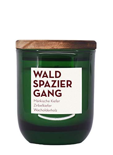 - Duftkerze aus Rapswachs und natürlichen ätherischen Ölen in Recycling-Glas - Waldspaziergang (150 ml) ()