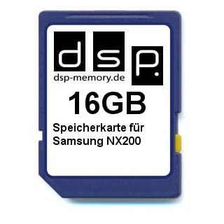 DSP Memory Z-4051557382893 16GB Speicherkarte für Samsung NX200
