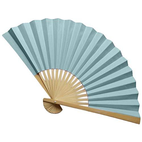 hinesischen Stil Hand Fan Bambus Papier Faltfächer Party Hochzeit Decor (K) ()
