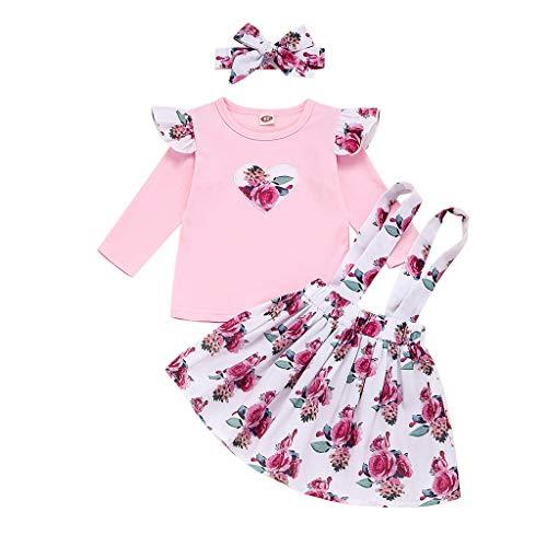 Comie Baby Mädchen Kleid, Babykleidung Herbst Kinder Spitze Tutu Prinzessin Kleid Säugling Baby Kleider Outfits Kinderbekleidung Langarm Prinzessin Rock