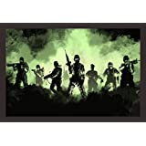 Mad Masters Army Art 1 Piece Wooden Framed Painting |Wall Art | Home Décor | Painting Art | Unique Design | Attractive Frames